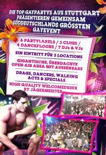 Top-Gaypartys aus Stuttgart